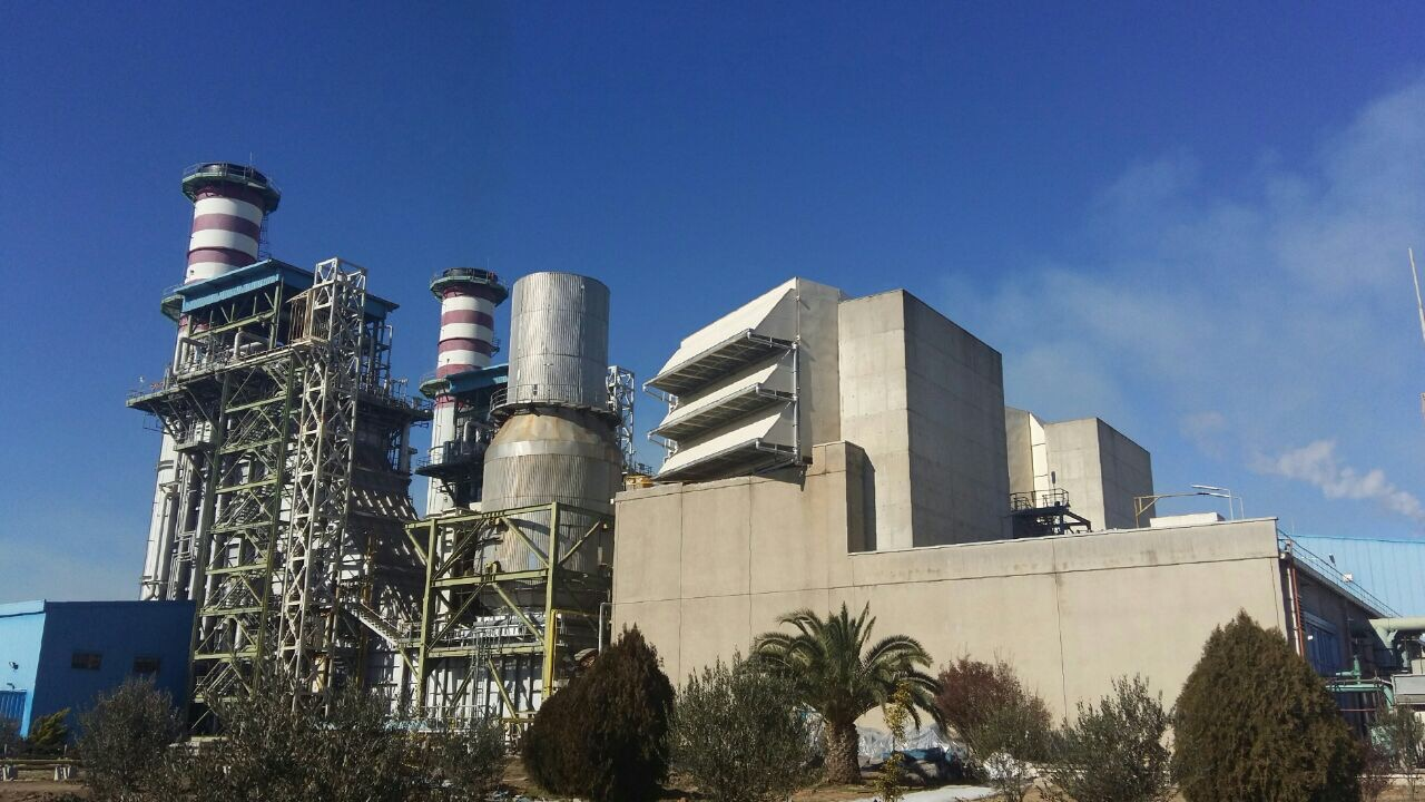 Rudshour Power Plant - Zarandieh